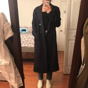 Long Navy coat
